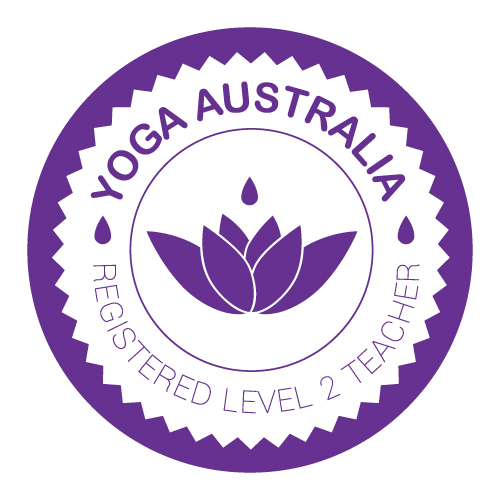 Yoga Australia Registered Lvl 2 Teacher