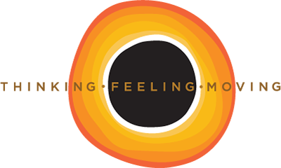 Thinking Feeling Moving Logo