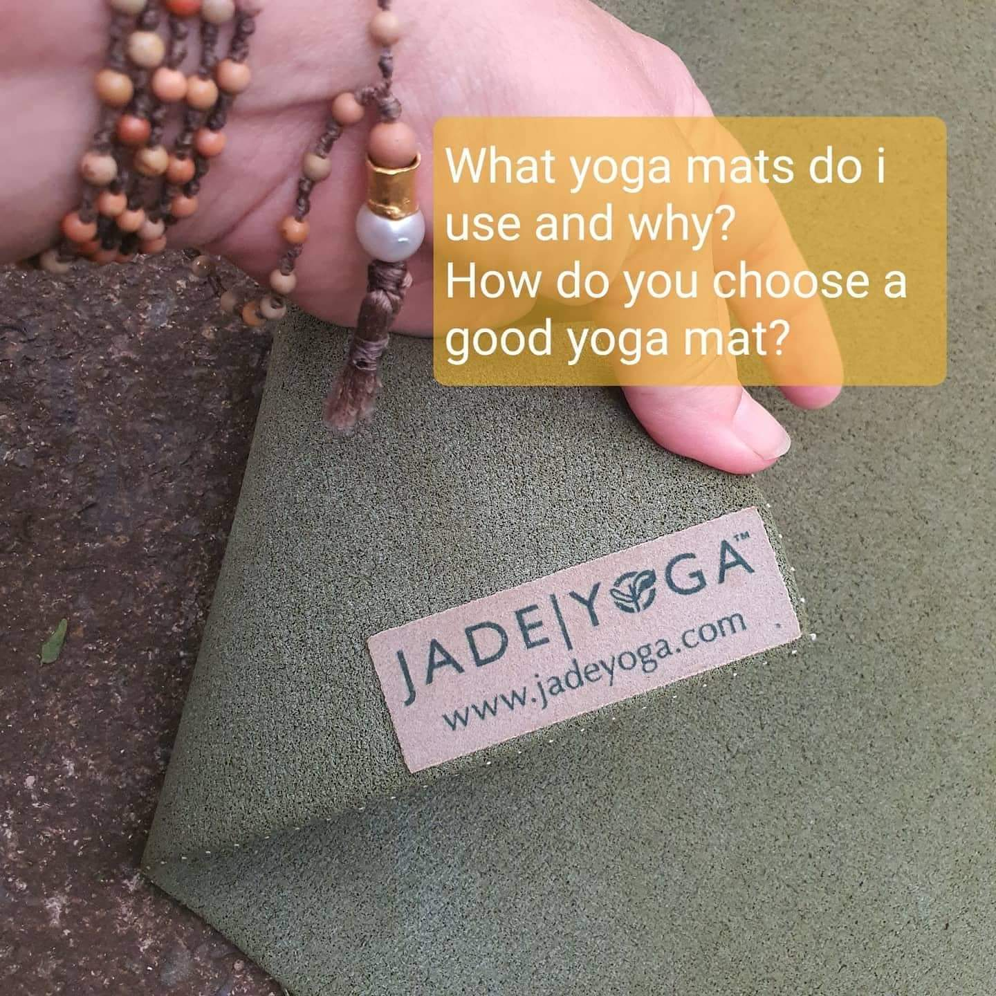 My Jade Yoga Mat is still in use after 10 years of daily practice. Still grippy, a bit ugly these days but it still does the job.